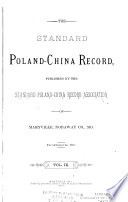 The Standard Poland China Record Book