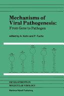 Mechanisms of Viral Pathogenesis