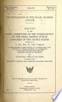 Investigation of the Pearl Harbor Attack
