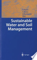 Sustainable Water and Soil Management Book