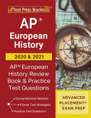 AP European History 2020 and 2021