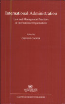 Intertional Administration