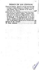 Los Salmos de David y Cánticos Sagrados interpretados en una brevísima paráfrasis en sentido propio y literal escritos en francés por --- y traducidos al castellano por Fr. Jayme Serrano Ord. Min