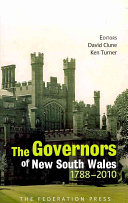 The Governors of New South Wales 1788-2010