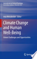 Climate Change and Human Well Being