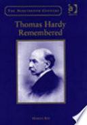 Thomas Hardy Remembered