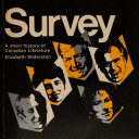 Survey  a Short History of Canadian Literature Book