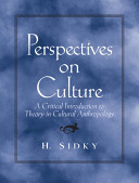 Perspectives on Culture