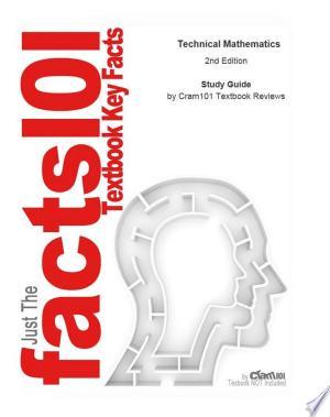 [pdf - epub] Technical Mathematics - Read eBooks Online