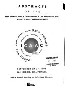 Abstracts of the     Interscience Conference on Antimicrobial Agents and Chemotherapy