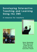 Developing Interactive Teaching and Learning Using the Iwb Pdf/ePub eBook