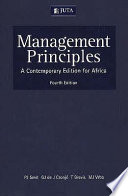 """Management Principles: A Contemporary Edition for Africa"" by Pieter Johannes Smit"