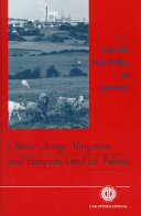 Climate change Mitigation and European Land use Policies Book