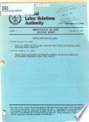 Administrative Law Judge Decisions Report
