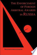 Enforcement Of Foreign Arbitral Awards In Russia Book PDF