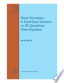 Shock Formation in Small-Data Solutions to 3D Quasilinear Wave Equations