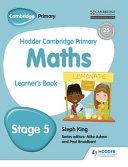 Hodder Cambridge Primary Mathematics Learner's