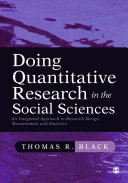Doing Quantitative Research in the Social Sciences