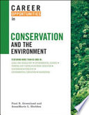 Career Opportunities In Conservation And The Environment