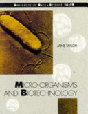 Micro organisms and Biotechnology Book
