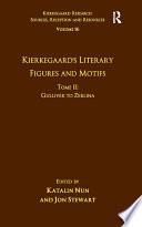 Volume 16 Tome Ii Kierkegaard S Literary Figures And Motifs