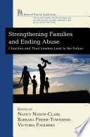 Strengthening Families and Ending Abuse Book