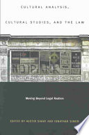 Cultural Analysis Cultural Studies And The Law