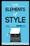 The Elements of Style  Annotated  Business Edition Book PDF
