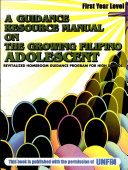 A Guidance Resource Manual on the Growing Fil. Adolescent i