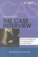 Vault com Guide to the Case Interview