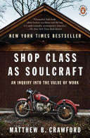 Shop Class as Soulcraft Pdf/ePub eBook