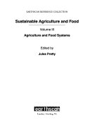 Sustainable agriculture and food Book