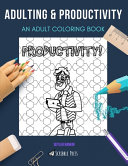 Adulting   Productivity Book