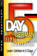 5-Day German Language Challenge