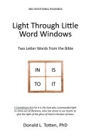 Light Through Little Word Windows: Two Letter Words from the Bible