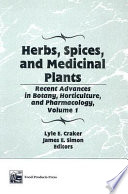 Herbs  Spices  And Medicinal Plants