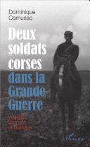 Deux soldats corses dans la Grande guerre [Pdf/ePub] eBook