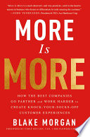 More Is More Book