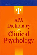 APA Dictionary of Clinical Psychology
