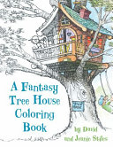 Fantasy Tree House Coloring Bo