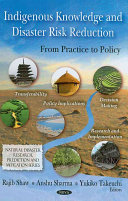 Indigenous Knowledge and Disaster Risk Reduction Book