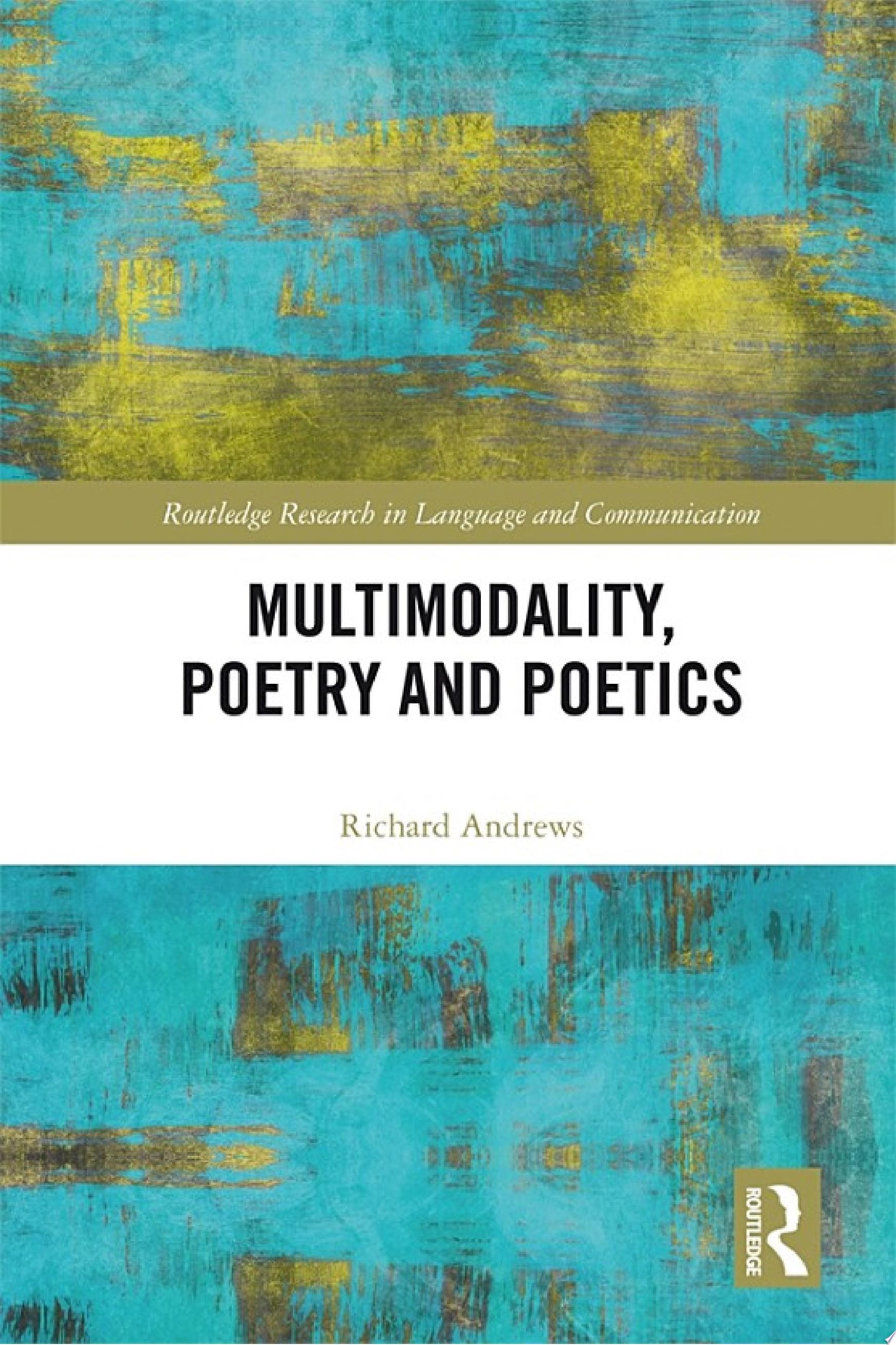 Multimodality  Poetry and Poetics