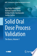 Solid Oral Dose Process Validation