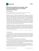Extended Nonstandard Neutrosophic Logic  Set  and Probability Based on Extended Nonstandard Analysis