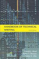 Handbook of Technical Writing, Ninth Edition