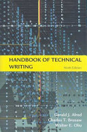 Handbook Of Technical Writing Ninth Edition