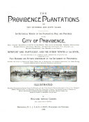 The Providence Plantations for Two Hundred and Fifty Years