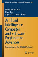 Artificial Intelligence  Computer and Software Engineering Advances