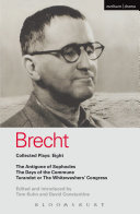 Brecht Plays 8