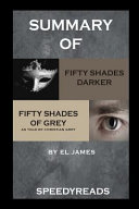 Summary of Fifty Shades Darker and Grey  Fifty Shades of Grey as Told by Christian Boxset Book